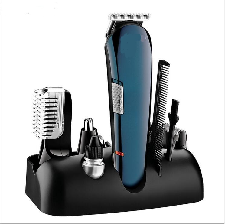 All in One Trimmer Electric man grooming kit hair clipper trimer shaver beard nose lettering styling cutting haircut barber tool 2018 kemei hair clipper hair cutting kit groomer haircut machine hair styling tool barber shave clippers men trimer limit combs