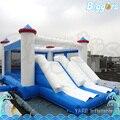 Custom Logo Inflatable Slide Combo with Bouncy Castle for Children