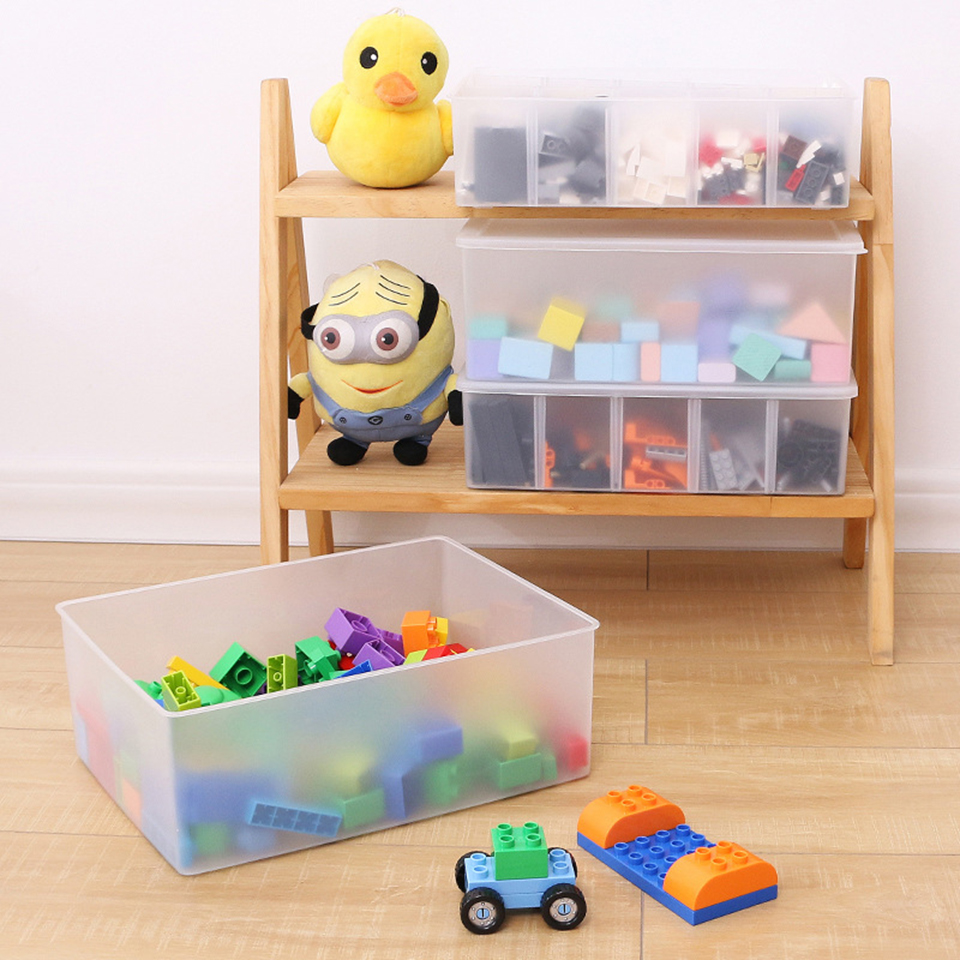 Msjo Storage Bo Bins Toy Organizer Plastic Box Container Adjule Sundries Jewelry Display In From Home