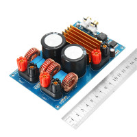 1PC Class D TPA3255 MINI HIFI AUDIO Digital Amplifier Board 300W + 300W DC50V Active Components Module