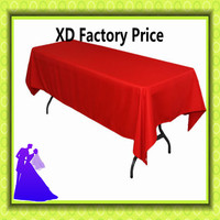 Sales Promotion 150 320cm Rectangle Polyester Table Cloth Wedding Table Cloth For Banquet Event Christmas Free