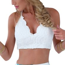 Lace Crochet Knit Crop