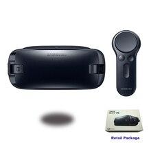 VR 4.0 R323 Gafas de Realidad Virtual de engranajes Soporte Samsung Galaxy S8 S8 + nota7 Nota 5 S6 S7 S7 S6 Edge Borde Engranaje Mando a distancia