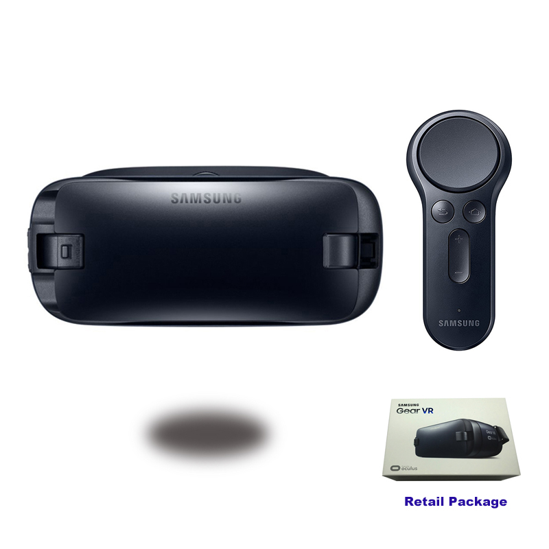 Gear VR 4.0 R323 <font><b>Virtual</b></font> <font><b>Reality</b></font> <font><b>Glasses</b></font> Support Samsung Galaxy S8 S8+ Note7 Note 5 S6 S6 Edge S7 S7 Edge Gear <font><b>Remote</b></font> <font><b>Controller</b></font>