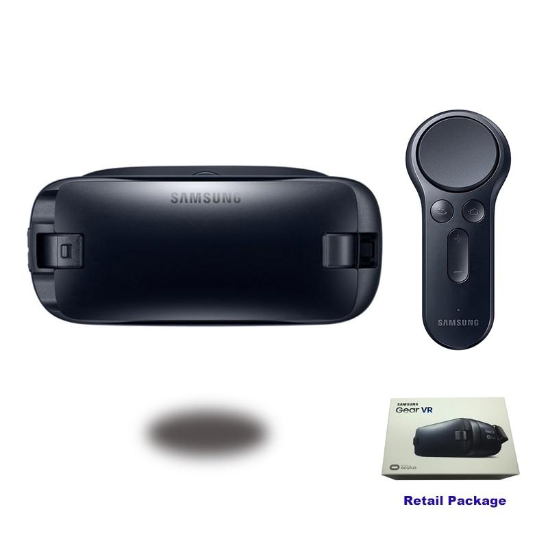 Gear VR 4.0 R323 lunettes de réalité virtuelle Support Samsung Galaxy S9 S9Plus S8 S8 + S6 S6 Edge S7 S7 Edge Gear télécommande