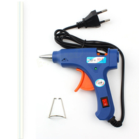 Home Professional High Temp Heater 20W Hot Melt Glue Gun Repair Heat Tools EU Plug With