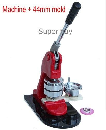 Bouton fabricant Badge fabricant bouton faisant la machine nouveau + 44mm moule un ensembleBouton fabricant Badge fabricant bouton faisant la machine nouveau + 44mm moule un ensemble