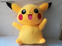 new style large 50cm lovely pikachu plush toy throw pillow soft toy Christmas gift w0179