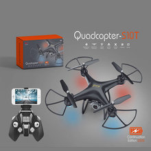RC Drone 2.4G 4CH 6-Axis Gyro 30W WIFI HD Camera 20Min Flying Time Altitude Hold Shatter Resistant RC Quadcopter Helicopter