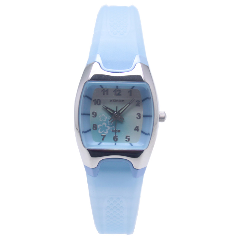 New Children Women Sports Watches Quartz Analog Waterproof <font><b>100M</b></font> Girls Swim Sport Wristwatch Women Dress Watch Felmale Watch WM image