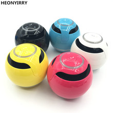 HEONYIRRY Bluetooth Mini Speaker Receiver Boombox FM Radio Portable Amplifier MP3 Subwoofer With Mic Loudspeaker