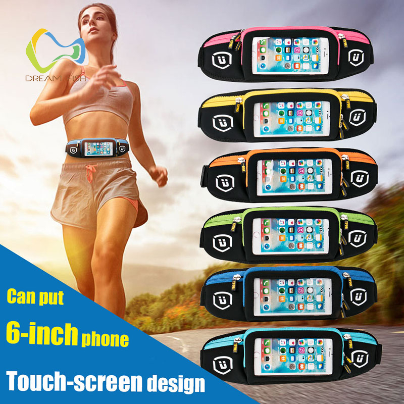 Sports pockets For Huawei mate 10 lite outdoor sports riding touch screen mobile phone bag invisible security armband for iphone