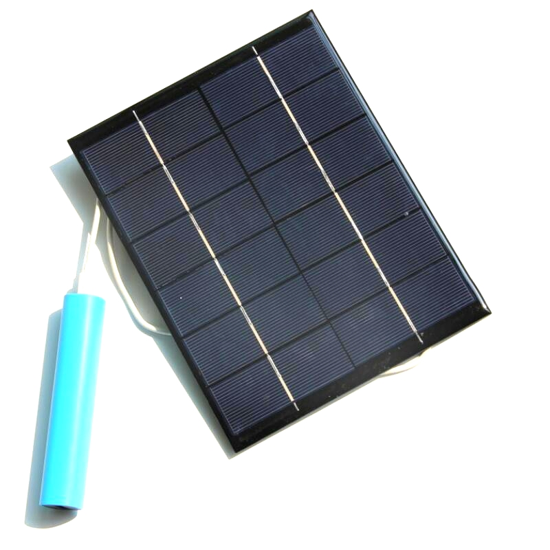 Big Promotion 50PCS/Lot 5.2W 6V High Quality Solar Panel With USB Output For Charging Mobile Power Banks/USB Fans/USB Lights Etc
