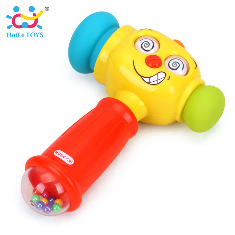 HUILE-TOYS-3115-Baby-Toys-Toddler-Play-Hammer-Toy-with-Music-Lights-Electric-Toys-Improve-Babys-Operation-Ability-12-month-4