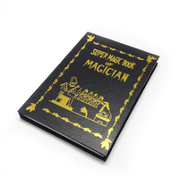 Metamopho Magic Book Dove Magic Card Magic Tricks Fire Props Comedy Special Toy 2013 New Wholsale