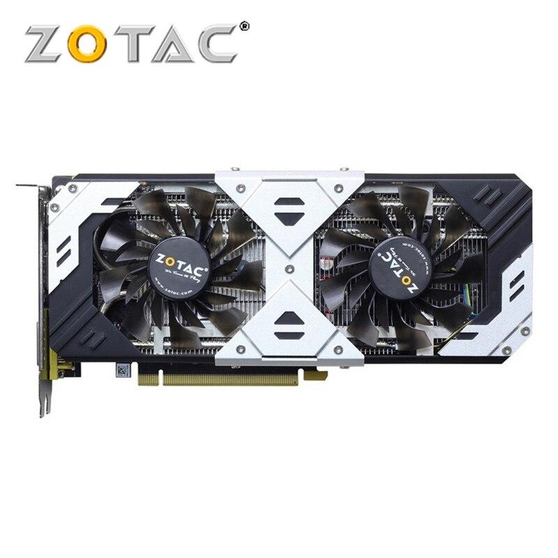 Original ZOTAC GeForce GTX 960 GB Placa De Vídeo GPU 4 GTX960 4GB Mapa 128Bit PCI-E Placas Gráficas Para nVIDIA GM206 4GD5 HDMI