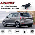 Seguro coches maletero de coche con cámara para Volkswagen VW Golf plus 2009, 2010, 2011, 2012, 2013, 2014 la noche Visioin respaldo trasero cámara de vista