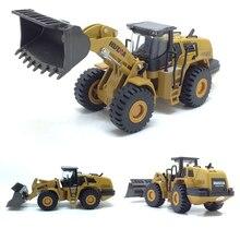 Высокая имитация сплава Инженерная модель автомобиля 1:50 погрузчик Лопата грузовик игрушки металлические литья детские игрушки транспортные средства