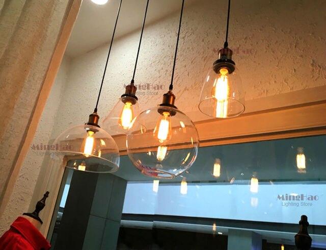 Vintage Slaapkamer Lampen : Amerikaanse industriële vintage creatieve retro loft glazen hanger