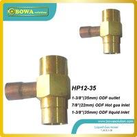 Distribuidores de líquido usado no ponto de injecção para assegurar uma mistura homogênea  trabalhando em conjunto com NTF válvulas
