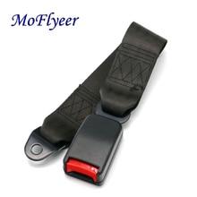 MoFlyeer Universal Car Seat Belts Safety Belt Webbing Extender Auto Seatbelt Extension Buckle