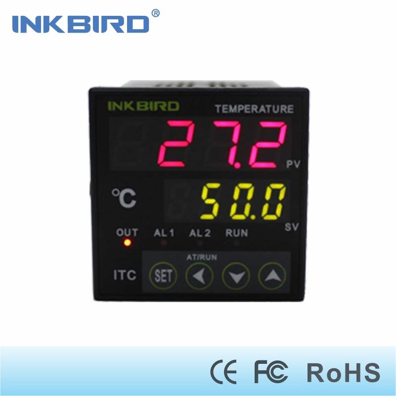 Regolatore di temperatura PID Inkbird con relè Omron DIN 1/16 ITC-100