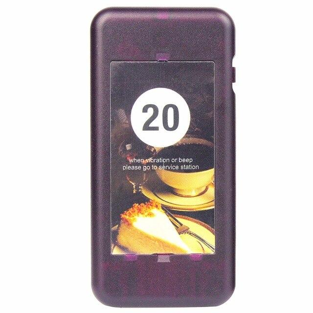 1 pcs Receptor de Chamada Pager Coaster Restaurante Pager para o Restaurante Sem Fio Sistema de Fila de Paginação 433 MHz F4427A