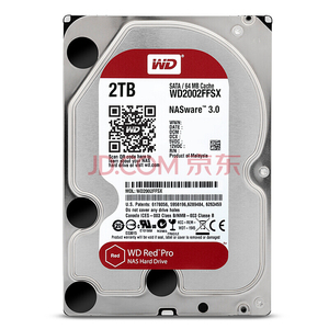 Image 2 - WD الأحمر برو 2 تيرا بايت القرص شبكة تخزين 3.5 NAS قرص صلب الأحمر القرص 2 تيرا بايت 7200RPM 256M مخبأ SATA3 HDD 6 جيجابايت/ثانية WD2002FFSX