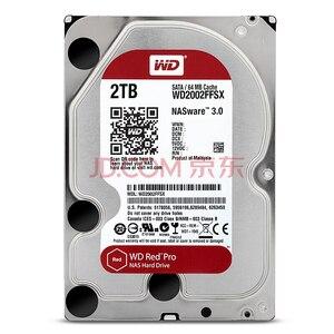 Image 2 - WD KıRMıZı Pro 2TB Disk Ağ Depolama 3.5 NAS sabit Disk Kırmızı Disk 2TB 7200RPM 256M önbellek SATA3 HDD 6 Gb/s WD2002FFSX
