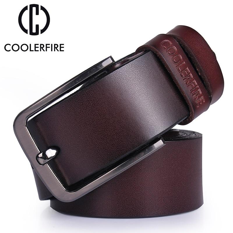 Cinturón de cuero genuino de los hombres de alta calidad cinturones de diseño hombres correa de lujo cinturones masculinos para hombres moda vintage hebilla para pantalones
