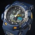 2017 cor azul moda digital relógio s choque g estilo dos homens epozz analógico quartz relógio de pulso à prova d' água mergulho relogio masculino