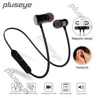 Pluseye Wireless Bluetooth Headset Sport Handfree Music Earphones Earbud With Mic For Xiaomi Iphone