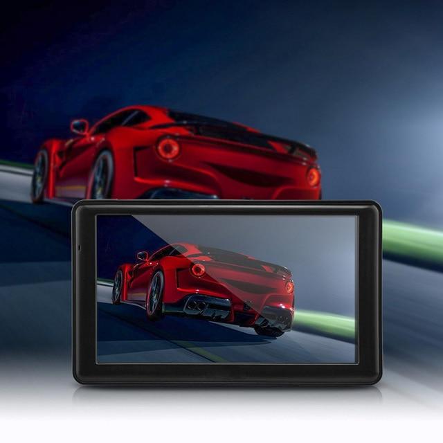 Автомобиля 7 дюймов gps навигация Сенсорный Экран Gps-навигация FM передачи 8 ГБ + Карта Америки tk103b Автомобиля Навигатор