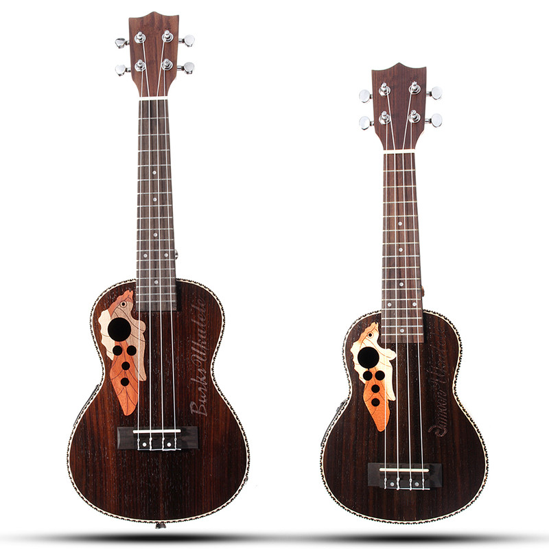 senrhy 21 39 39 23 39 39 acoustic 4 strings concert ukulele uke rosewood electric bass guitarra guitar. Black Bedroom Furniture Sets. Home Design Ideas