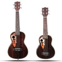 Senrhy 21'' 23'' Acoustic 4 Strings Concert Ukulele Uke Rosewood Electric Bass Guitarra Guitar for Musical Stringed Instruments