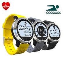 Neue Smart Uhr F69 IP68 Wasserdicht Fitness Tracker Herzfrequenzmesser Sport Smartwatch Für IOS Android PK GT08 DZ09 Armbanduhr