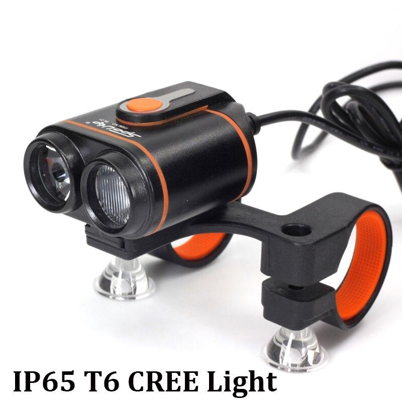 Vélo Avant Lampe 1600Lm Phare De Bicyclette LED Lampe D'éclairage Avant Flash Lanterne Torche IPX 6 étanche vélo CREE T6 lumière