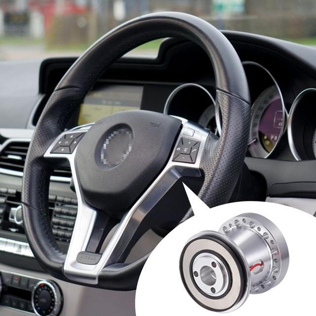 1 pieza de aleación de aluminio adaptador de cubo de volante accesorios de coche Jefe