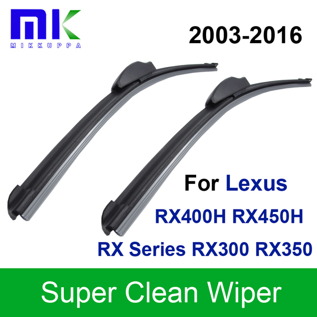 wipers lexus rx300