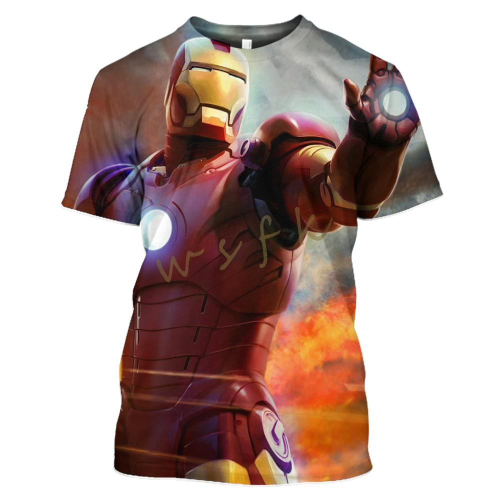 Marvel Sweat-Shirt Manches Courtes Homme