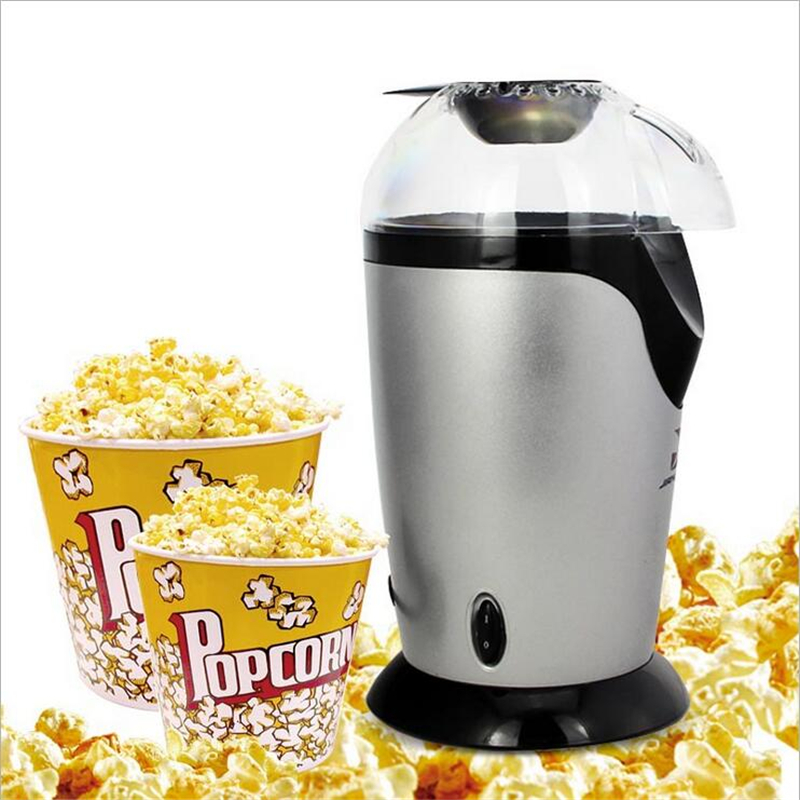 Mini Popcorn Maker Automatic Popcorn Machine With EU Plug For Household Popcorn Machine Popcorn Maker Non-stick Liner pop 06 economic popcorn maker commercial popcorn machine with cart