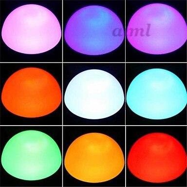 5 шт. E26/E27 3 Вт LED 180 лм RGB с дистанционным управлением Круглые лампы AC 85 265 в - 5