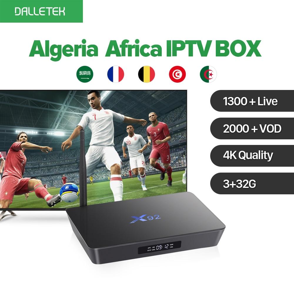 4K 3G 32G Amlogic S912 Octa Core Android 6.0 TV Set Top Box Europe French Arabic 1300 IPTV Algeria Africa IPTV Channels QHDTV french iptv h96 pro belgium netherlands luxembourg europe iptv iptv s912 octa core 3g ram 32g gb rom android 6 0 tv box