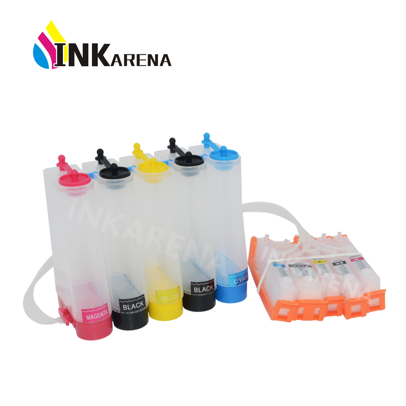 PGI525 CIS CISS <font><b>Bulk</b></font> ink System for Canon PIXMA IP4850 IP4950 IX6550 MG5150 MG5250 MG5350 MX715 MX885 MX895 Printer PGI 525 526 image