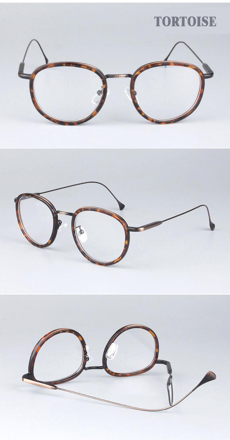 8ce0b484e3 Round metal frame glasses pink women fashion brand designer ...