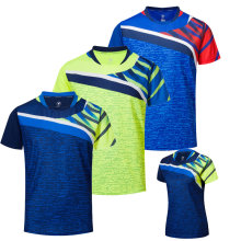 Free Printing Quick dry Badminton shirt Men / Women , Badminton shirts , Table Tennis shirt , sport Running gym shirts A111(China)