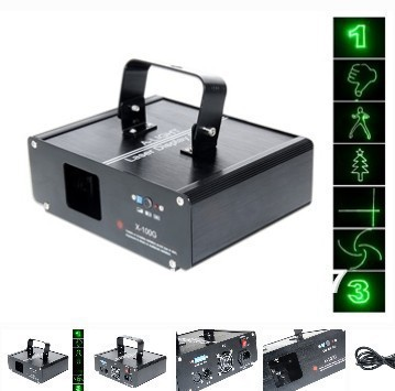 100mW green laser light DPSS 532nm laser diode scanner lasers stage lighting for night club disco party free shipping ...