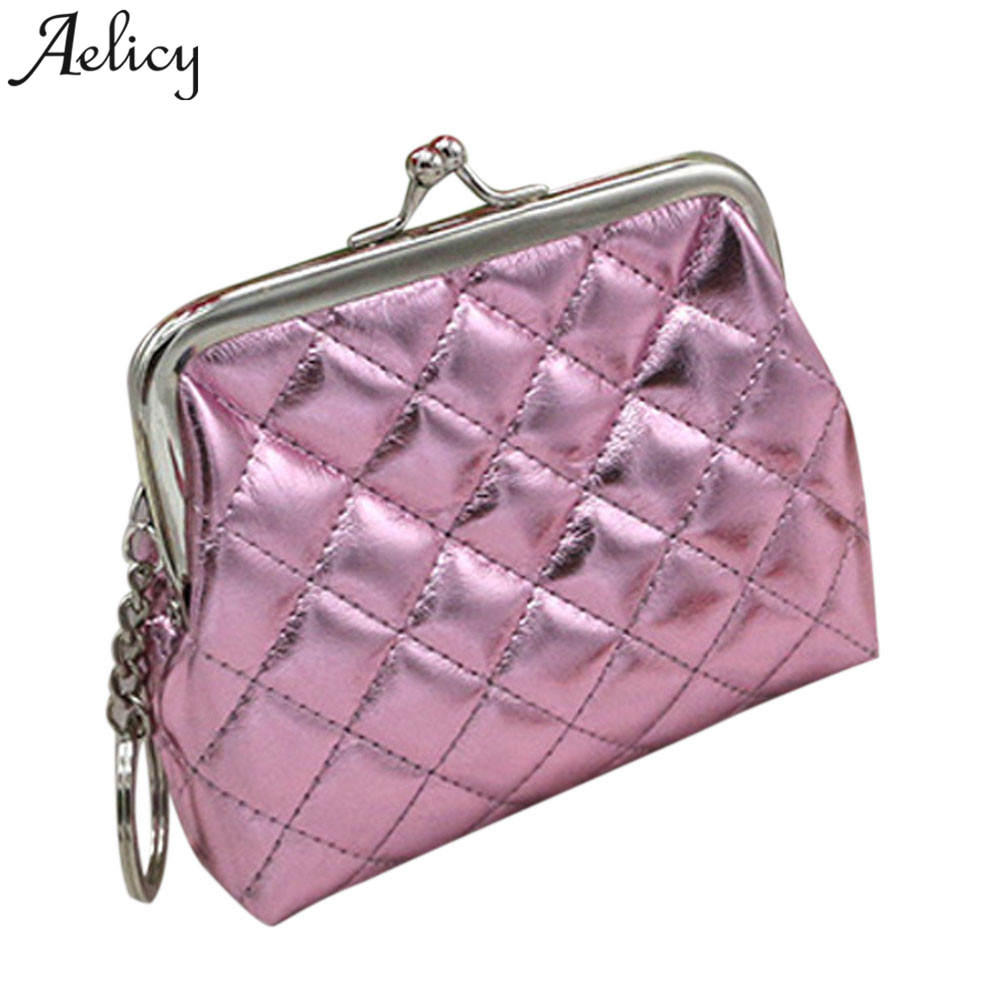 Aelicy PU Leather Coin Purses Women's Small Change Money Bags Pocket Wallets Key Holder Case Women Coin Purse Mini Card Pouch candy colored girls coin bags women key wallets cute pu eva mini square storage hard bag case holder for sd tf card earphone