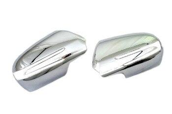 Mobil Chromium Styling Chrome Side Cermin Cover Untuk Mercedes Benz SLK R171 Kelas Model Facelifted