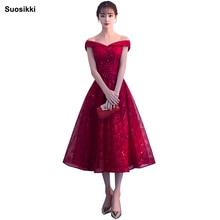 Купить с кэшбэком Suosikki V-neck Navy Blue Long Evening Dress Lace Beaded Vintage Prom Gowns Vestido De Festa Off The Shoulder Cheap Evening Gown